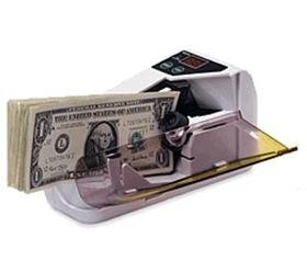 Contadora de billetes portatil V-30