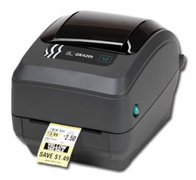 Impresora etiquetas ZEBRA GK420t - Transferencia térmica