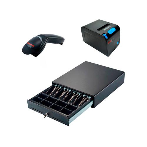 Pack Impresora P83 + Cajón + Escáner Honeywell MS5145