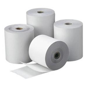 80 rollos de papel eurocalco 76x65
