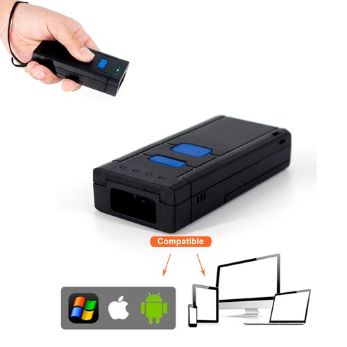 Escáner lector Pocket Bluetooth USB