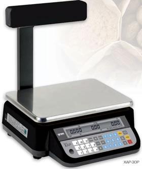Balanza XAP-30P con display de cliente elevado